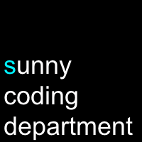 sunny coding department