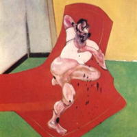 Portrait of Lucian Freud – Francis Bacon
