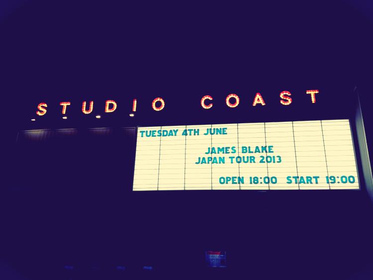 James Blake Japan Tour 2013